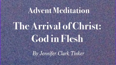 Advent Meditation 1 of 3